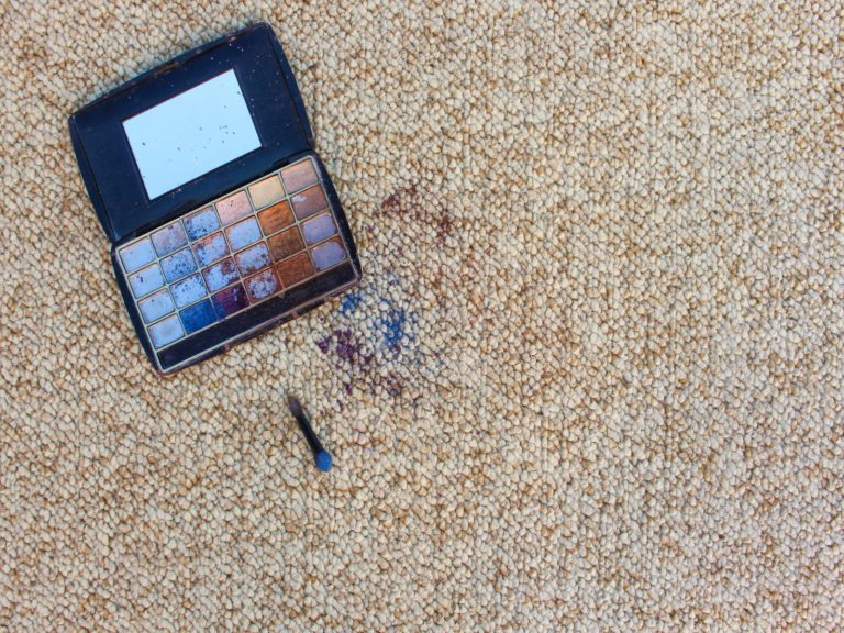 How To Get Eyeshadow Out Of Carpet