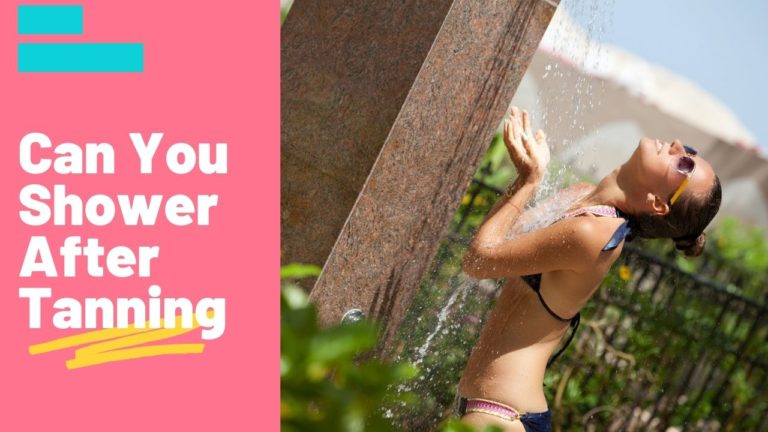 Can You Shower After Tanning?